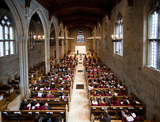 BSS Chapel: The learning landscape at BSS is as varied as the learners. One beautiful and historic space on campus is chapel. Reverend Cathy Gibbs heads up the spiritual growth of all students.