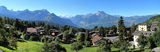 Aiglon campus with its eight boarding houses, teaching blocks, sports centre, library and more.