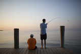Morning and afternoon fishing is one of our students' favorite activities. Our 1,000 foot pier connects our front yard to the Gulf of Mexico.