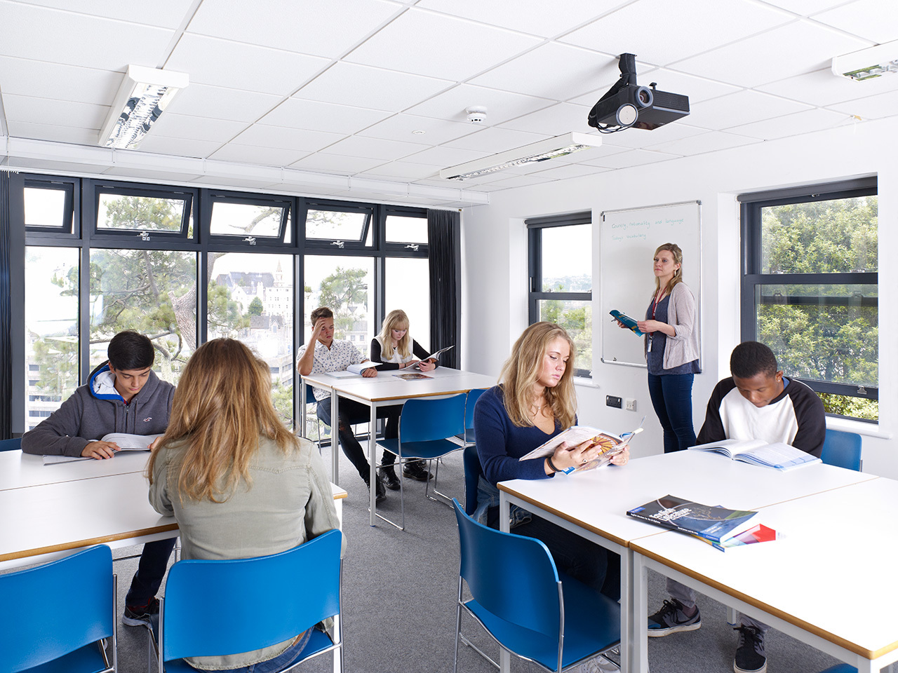 EF Academy Torbay Photo #3 - Small class sizes and modern facilities at EF Academy Torbay make learning highly engaging.