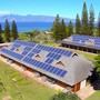 Maui Preparatory Academy Photo #2 - Garden, Solar Panels, the Great Lawn, Cook Pine Trees, the Pacific Ocean, Moloka'i: Maui is our ultimate classroom!